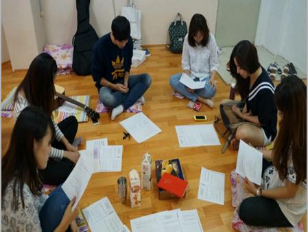 2015 하늘소망 주간 모임 – 동아리방